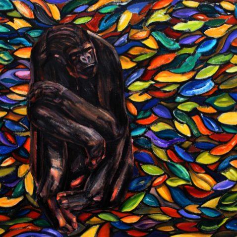 Malarstwo małpy
